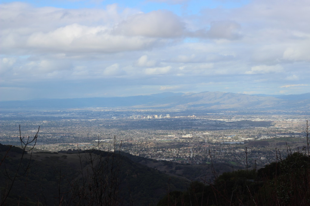 San Jose from Bald Mountain