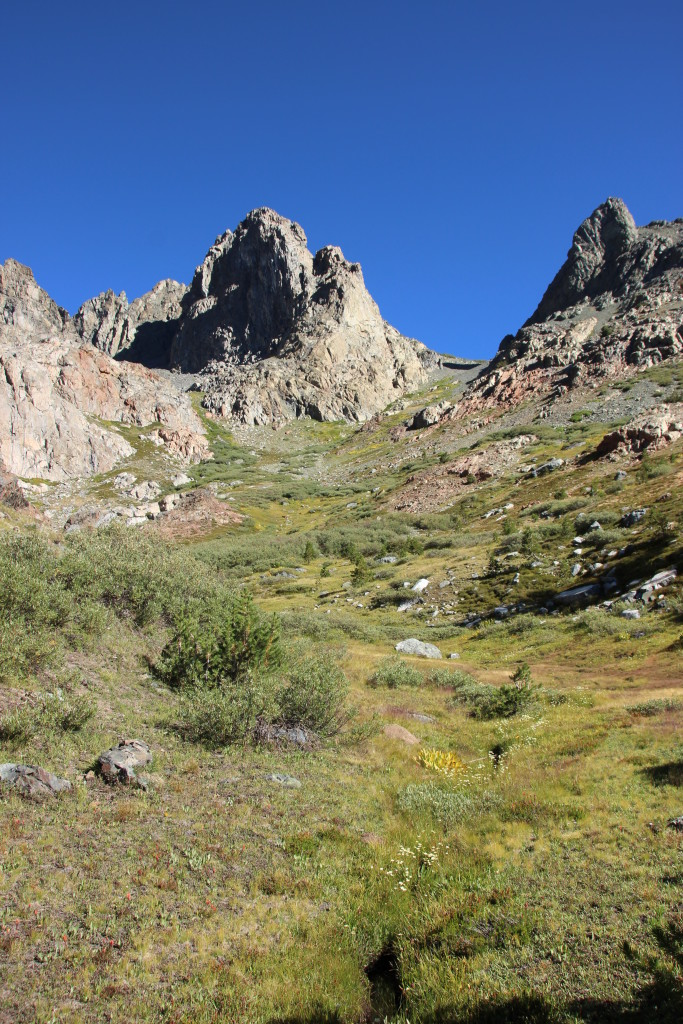 Climbing from Minaret to Cecil Lake