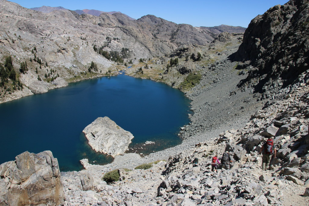 "Iceburg Lake ""trail"", Mammoth Lakes, CA"