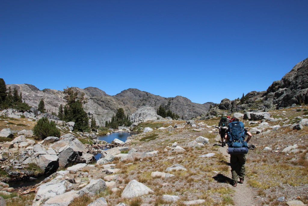 Shadow Creek trail, Mammoth Lakes, CA