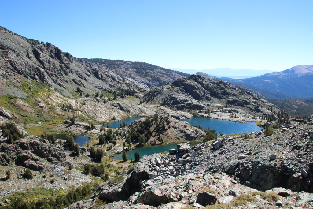 Minaret Lake trail, Mammoth Lakes, CA
