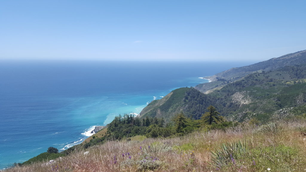 Hiking the Big Sur coast